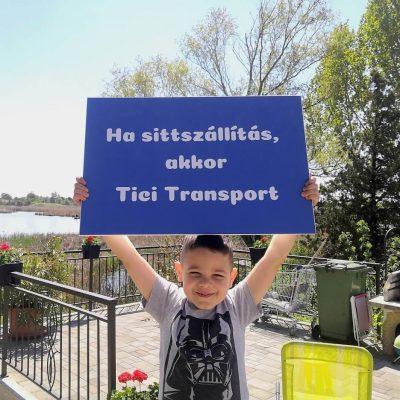 Zsákos sittszállítás rakodással és tehergépjárművel - Tici Transport
